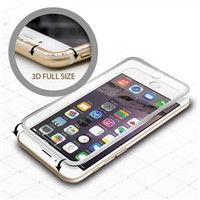 Titanium Alloy Tempered Glass Screen Protector for iPhone 6