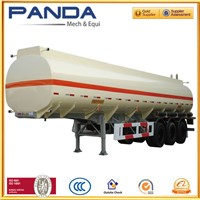 Panda 40000 liters fuel oil tanker semi trailer