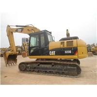 Used CAT 23t crawler excavator CAT 323D