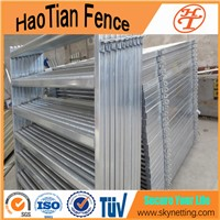 Galvanized Pipe Livestock Metal Corral Fence Panels For Horses