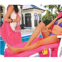 Microfiber Beach Towels Bag Beach Chair Towels
