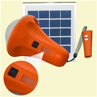 Rechargeable battery Solar led lantern with mobile phone charger and remote control solar lantern