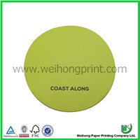 colorful paper coaster, cup mat