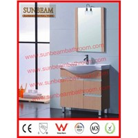 MDF with melamine MFC bathroom cabinet/bathroom vanity/bathroom furniture