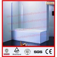freestanding bathtub with shower screen/bath screen/shower door/shower cubicle