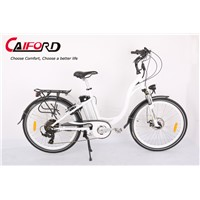 Aluminum alloy frame electric bike