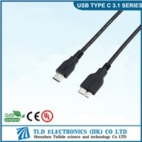 USB3.0 A male to Micro B male cable for digital camera