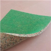 china soft floor rebond carpet underlay foam