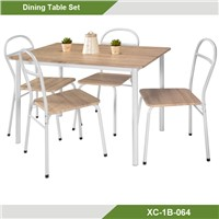Cheap 3D paper finish Dining table sets