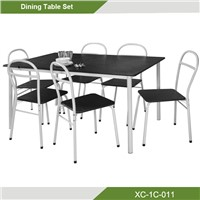 7 pcs Metal Dining Room Set