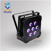 Rasha Factory Price 7*15W 5in1 RGBAW Wireless LED Par Can,American DJ Light For DJ Event