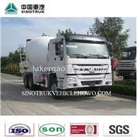 8 m3 concrete mixer truck/ 336HP Cement mixer truck/2015 HOWO Concrete mixer truck