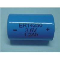 ER14250 1/2AA Li-SOCI2-Battery, 3.6v lithium batteries