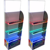 Acrylic display stand with led, advertising led box