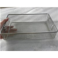 Metal wire tray and basket