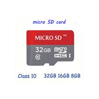 Newest Real capacity memory card micro sd card 32GB 16G 8GB class 10 microsd TF Card SD adapter