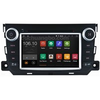 Ouchuangbo autoradio  dvd gps Mercedes Benz Smart Fortwo android 4.4 OS