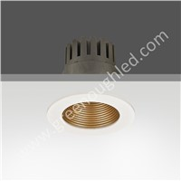 White Plus Gold LED Ceiling Light/Cut Hole 105mm LED Down Lamp/IP20 Down Light