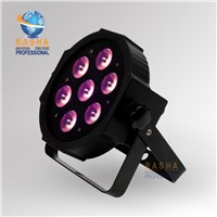 HOT SALE 7*12W 4IN1 RGBA/RGBW LED Megar Par Light,LED PAR CAN,ADJ LED Par
