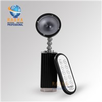 5W Battery Powered LED Pinspot Light With IR Remote Control,LED Flashlight With Magnetic