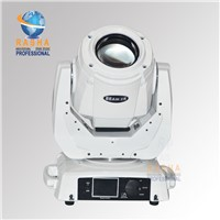 130W 2R Sharpy Moving Head Beam With 14 Gobos,3 Layer Lens Touch Screen LCD Display With White Case