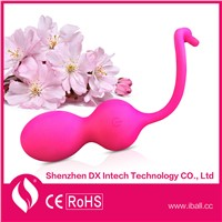 2015 hot sale kegel silicone ball waterproof koro ball for female vagina tightening massage ball