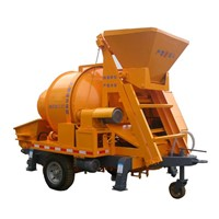Concrete mixing pumping machine from China coal