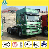 Double sleeper cab best price Sinotruk Howo 371hp 6X4 tractor truck