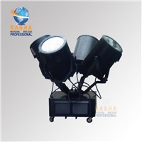 4KW Outdoor Sky Rose Light Four Heads Sky Searchlight for Stage Outdoor Lighting