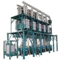 wheat flour production plant