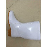 white color Chemical safety shoes