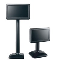 7''  TFT-LCD Media USB Customer Pole Display