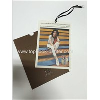 Custom cardboard gift card with kraft paper envelope printing
