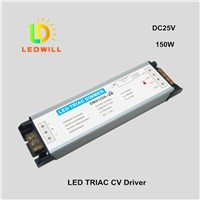 DC24V/150W Triac driver for led light dimmer curve smoothing LED Triac Constant voltage driver