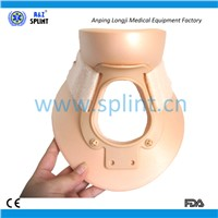 Rigid plastic lightweight foam philadelphia cervical collar