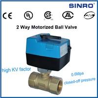 2 way motorized ball valve