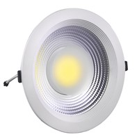 195mm 30W Cut Hole LED Down Light/COB LED Ceiling Fixtures