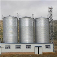 Customized Grain Storage Silo for Sale with China Leading Technology