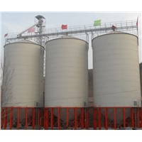 Customized Grain Steel Silo and Engineers Can Service Silo Grain Overseas