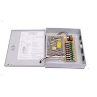 9 Channel output CCTV surveillance power supply