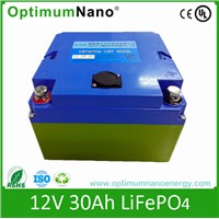 LiFePO4 Battery 12V 30ah for Solar Light