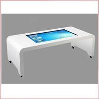 42inch touch stand kiosk lcd screen, Table Touch Screen All In One PC