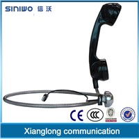 Engineering PC/ABS explosionproof vandalproof industrial handset armored handset payphone handset