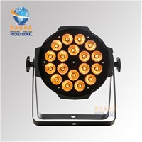 Rasha New Arrival 18pcs*18W 6IN1 RGBAW UV LED Par Light,LED Par Can For Stage Disco Event,LED Par64