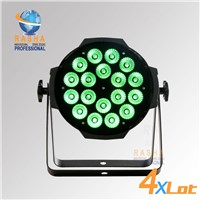4X LOT 18pcs*18W 6in1 RGBAW UV LED Par Can,LED Par64 LED Par Light