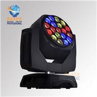 Rasha New Arrival Osram Big Eye19*15W 4in1 RGBW LED B-Eye Movin Head Wash+Beam,LED Moving Head Beam