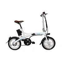 Small wheel special frame electric bike