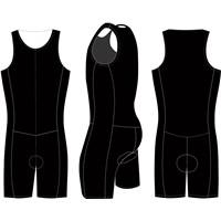 black flashing trithlon sport wear new imagine design