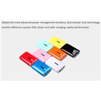 7800mAh portable mobile power charger with dual usb output