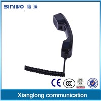 K style voip industrial resistence telephone handset|bluetooth retro handset